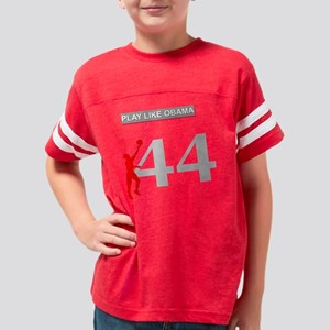 Obama-Basket1 Youth Football Shirt