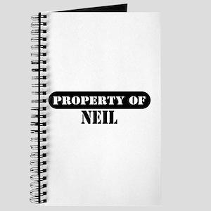 Property of Neil Journal