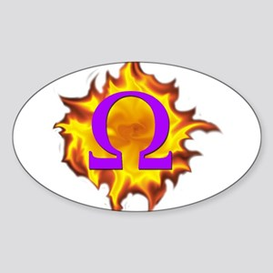 We are Omega! Sticker (Oval)
