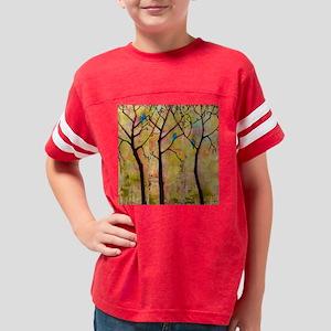 Three Trees With Bluebirds Youth Football Shirt