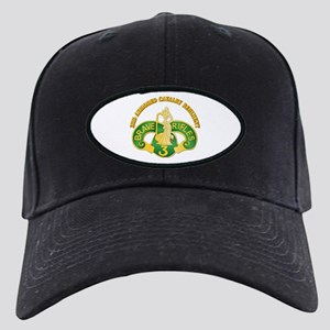 SSI - 3rd Armored Cavalry Rgt w Text Black Cap