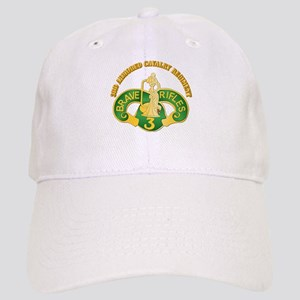 SSI - 3rd Armored Cavalry Rgt w Text Cap