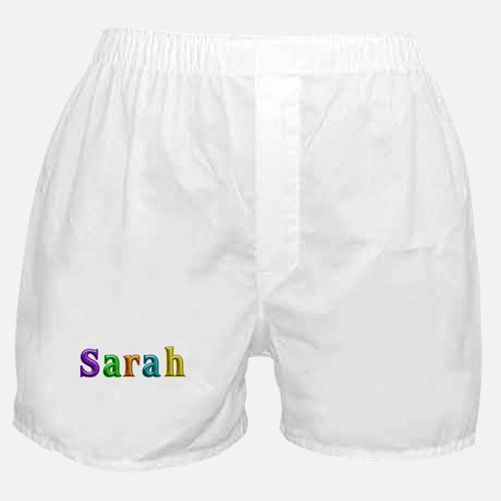 Sarah Shiny Colors Boxer Shorts