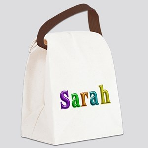 Sarah Shiny Colors Canvas Lunch Bag