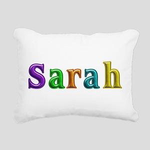 Sarah Shiny Colors Rectangular Canvas Pillow