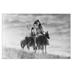 Mounted Warriors Large Poster