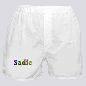 Sadie Shiny Colors Boxer Shorts