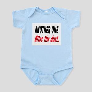 BITES THE DUST Infant Bodysuit