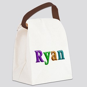 Ryan Shiny Colors Canvas Lunch Bag