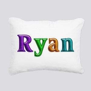 Ryan Shiny Colors Rectangular Canvas Pillow