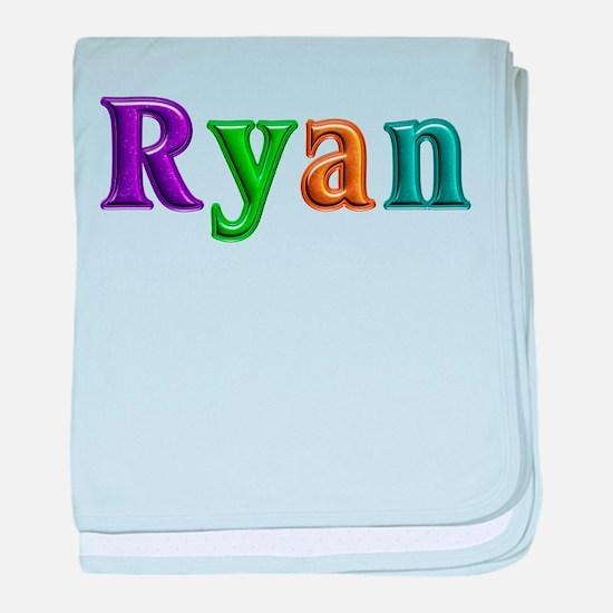 Ryan Shiny Colors baby blanket