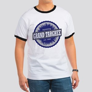 Grand Targhee Ski Resort Wyoming Navy Blue T-Shirt