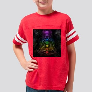meditation2 Youth Football Shirt