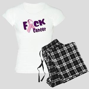 f-cancer-long copy Pajamas