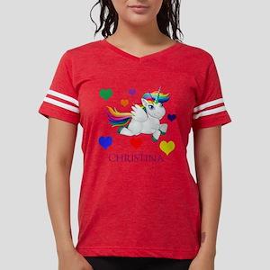 Unicorn Make Personalized Womens Football Shirt
