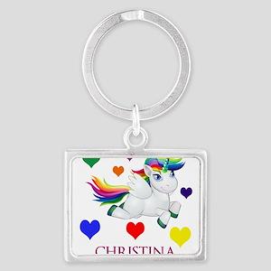 Unicorn Make Personalized Keychains