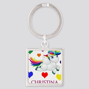 Unicorn Make Personalized Keychains