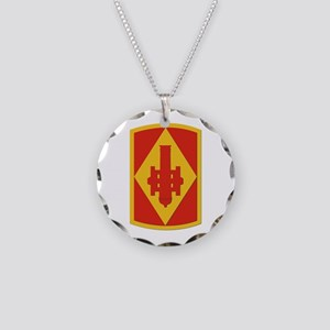 SSI - 75th Fires Brigade Necklace Circle Charm