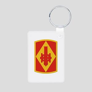 SSI - 75th Fires Brigade Aluminum Photo Keychain