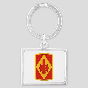 SSI - 75th Fires Brigade Landscape Keychain