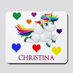 Unicorn Make Personalized Mousepad