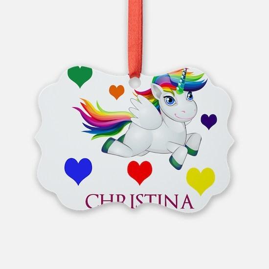 Unicorn Make Personalized Ornament