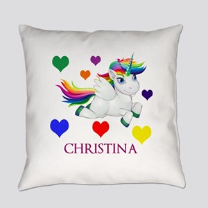 Unicorn Make Personalized Everyday Pillow