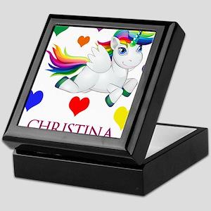Unicorn Make Personalized Keepsake Box