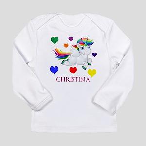Unicorn Make Personalized Long Sleeve T-Shirt