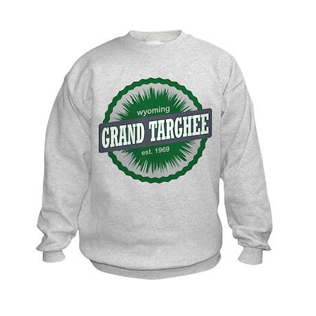 Grand Targhee Ski Resort Wyoming Green Sweatshirt
