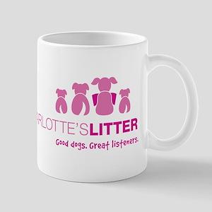 Newtown Kindness Logo White / Pink Mug