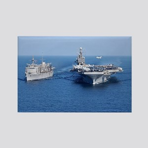 CVN-71 Rectangle Magnet