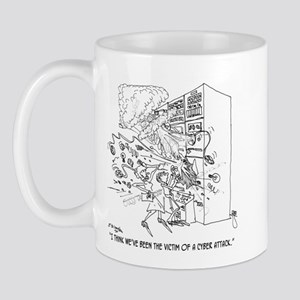 Victim of a Cyber Attack Mug