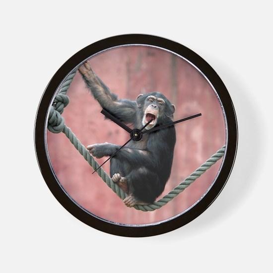 Chimpanzee001 Wall Clock