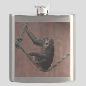 Chimpanzee001 Flask
