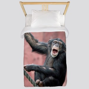 Chimpanzee001 Twin Duvet