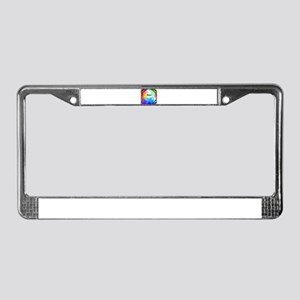 Abby License Plate Frame