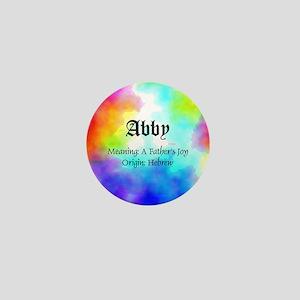 Abby Mini Button