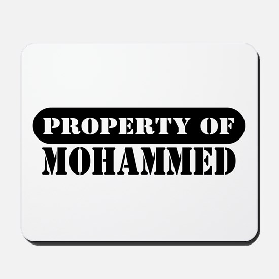 Property of Mohammed Mousepad