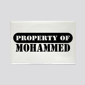 Property of Mohammed Rectangle Magnet
