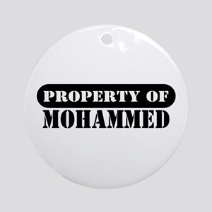 Property of Mohammed Ornament (Round)