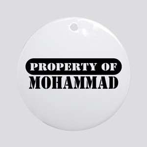 Property of Mohammad Ornament (Round)