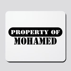 Property of Mohamed Mousepad
