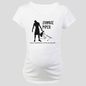 Zombie Piper Maternity T-Shirt