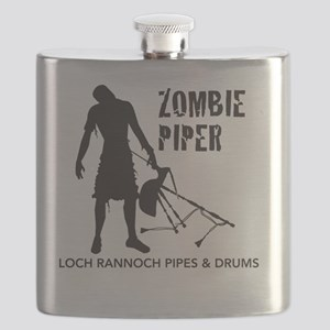 Zombie Piper Flask
