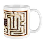 Coffee Shop Maze Mugs