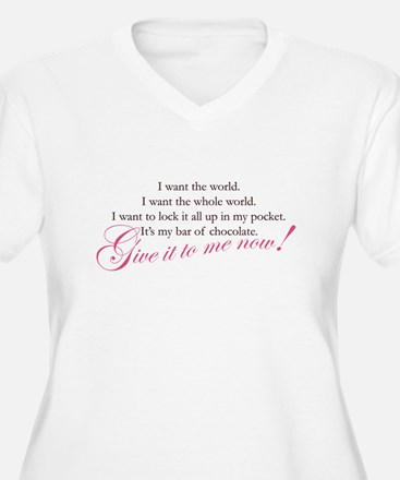 giveittomenow2.jpg Plus Size T-Shirt