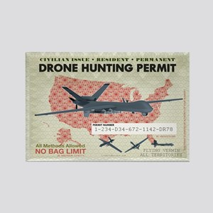 Drone Hunting Permit Magnets