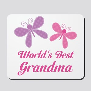 Personalized World's Best butterfly Mousepad