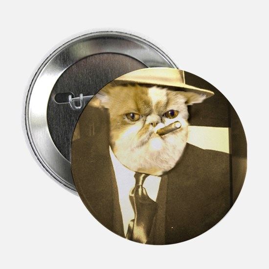 "Cat Capone 2.25"" Button"